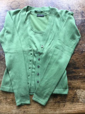 Strenesse Gabriele Strehle Knitted Twin Set grass green