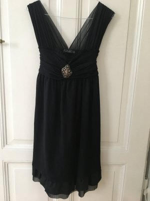 Twin Set Abendkleid Cocktailkleid Brosche Kleid