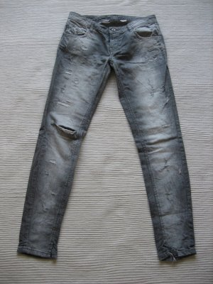 twin set barbieri jeans gray neuwerig gr. xs 34/s 36