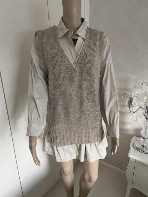Twin set bluse mit V -Pullover neu ohne Etikett gr S/M