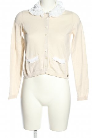 Twin set Cardigan creme Casual-Look