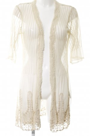 Twin set Cardigan creme Elegant