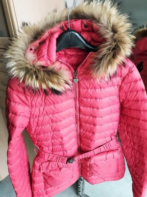 Twin set Down Jacket raspberry-red