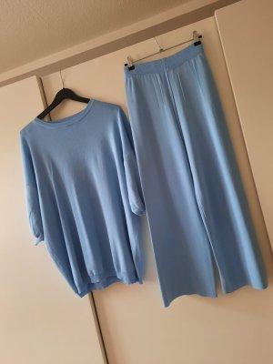 Woven Twin Set azure