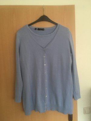 Bon Prix Sweater Twin Set azure