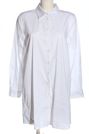 Twin set Vestido tipo blusón blanco look casual