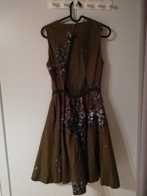 Twin set Kleid mit Rückendekolleté