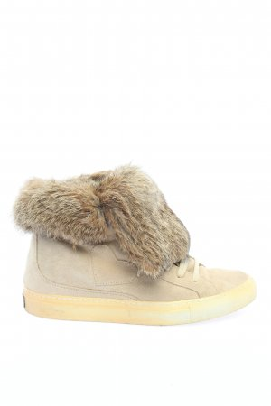 Twin set Short Boots natural white casual look