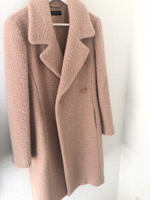 Twin set Cappotto in lana rosa antico