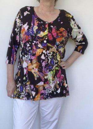 Alba Moda Twin set in jersey multicolore Viscosa