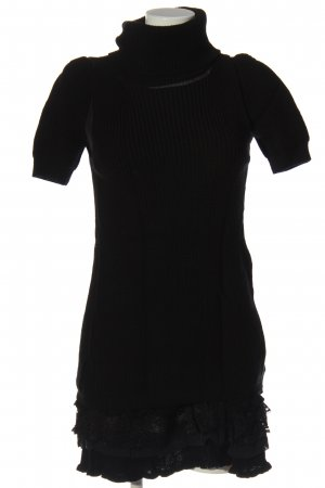 Twin set Swetrowa sukienka czarny W stylu casual