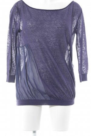 Twin set Jersey de cuello redondo lila