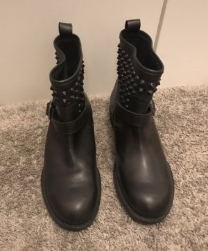 Twin set Botines negro-gris