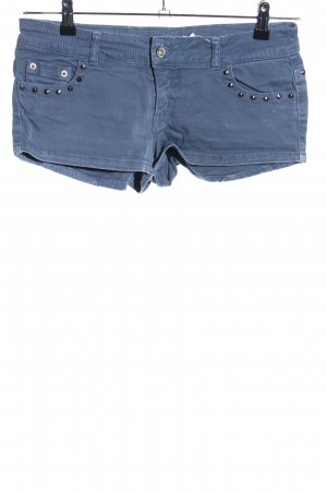 Twin-Set Simona Barbieri Hot Pants blau Casual-Look