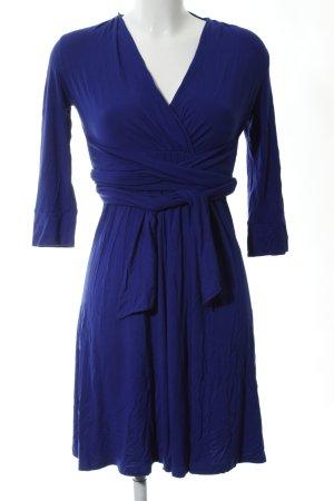 Twin-Set Simona Barbieri Jerseykleid blau Casual-Look