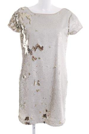 Twin-Set Simona Barbieri Pailettenkleid mehrfarbig extravaganter Stil