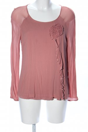 Twin-Set Simona Barbieri Schlupf-Bluse pink Business-Look