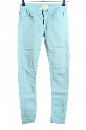 Twin-Set Simona Barbieri Skinny Jeans blau Casual-Look