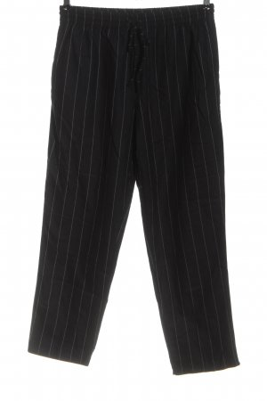 Twin-Set Simona Barbieri Jersey Pants black-light grey allover print casual look