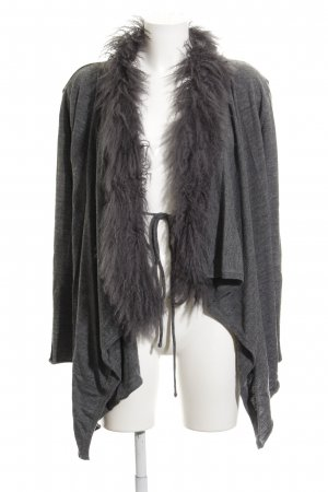 Twin-Set Simona Barbieri Strick Cardigan grau Casual-Look