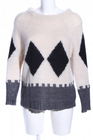 Twin-Set Simona Barbieri Strickpullover grafisches Muster Casual-Look