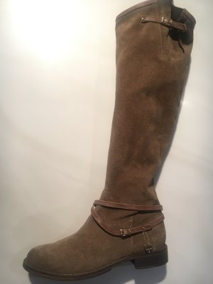 Twin set Riding Boots light brown leather