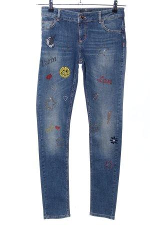 Twin set Skinny Jeans blau Casual-Look