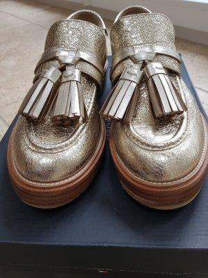 Twin set Buty wciągane złoto