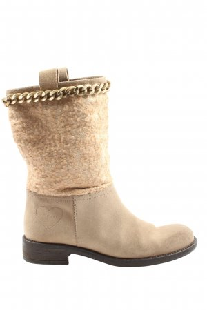 Twin set Slouch Stiefeletten creme Casual-Look