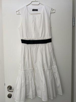 Twin set Letnia sukienka biały-czarny