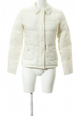 Twin set Steppjacke creme Casual-Look