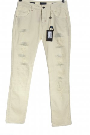 Twin set Straight Leg Jeans natural white casual look