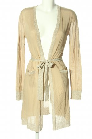 Twin set Knitted Cardigan cream casual look