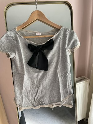 Twin set T-Shirt silver-colored-black