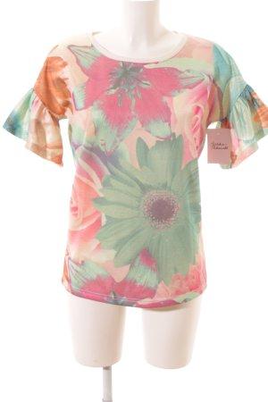 Twin set Sweatshirt Blumenmuster Casual-Look