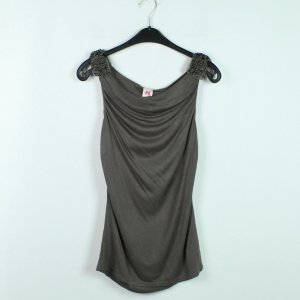 TWIN SET Top Gr. S taupe (20/03/082*)