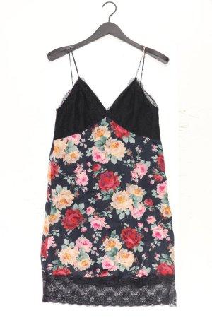 Twin Set Trägerkleid Größe S mit Blumenmuster schwarz aus Polyamid
