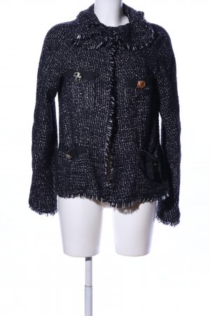 Twin set Tweedblazer schwarz Casual-Look