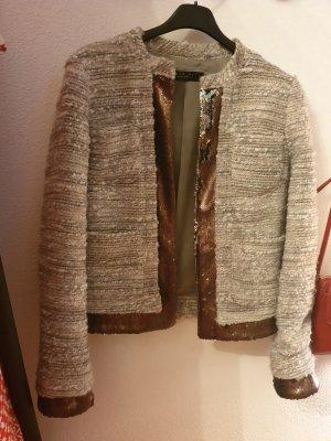 Twin set Short Jacket light grey