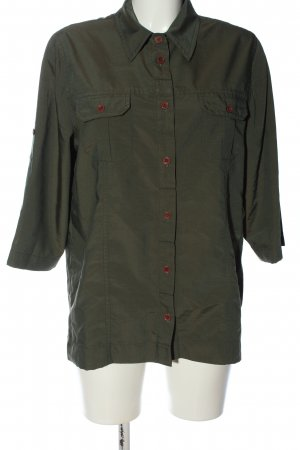 Twinkle Shirt met korte mouwen khaki casual uitstraling