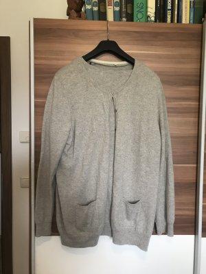 Sixth Sense Knitted Twin Set light grey