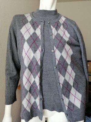 Sixth Sense Ensemble en tricot gris foncé