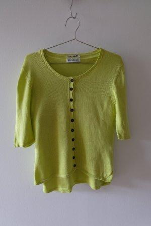 Iris von Arnim Twin set in maglia verde prato Cotone