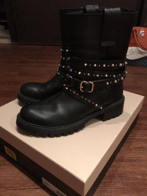 Twinset Boots Leder