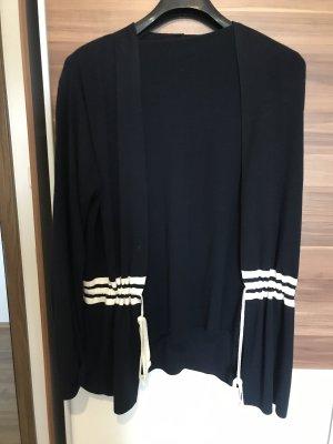 Delmond Knitted Twin Set dark blue