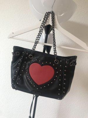 Twinset Handtasche mit Herz und Nieten