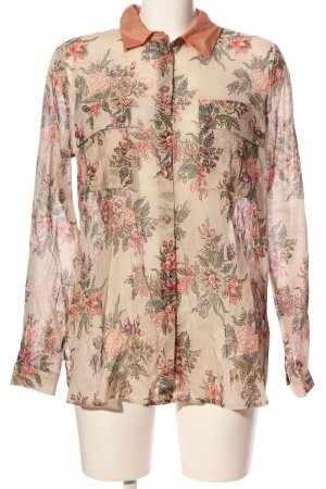 Twinset Hemd-Bluse Blumenmuster Business-Look