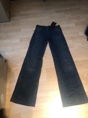 Twin set Workowate jeansy ciemnoszary-antracyt