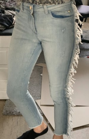 Twin set Hoge taille jeans azuur
