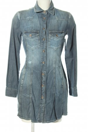 Twinset Jeanskleid blau Street-Fashion-Look
